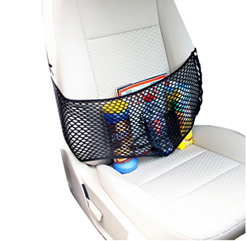 XtremeAuto® Elasticated Seat Organiser, Storage Band/Net For Front Car Seats.: