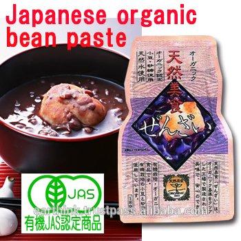 Organic 'Zenzai' Sweet Red Bean Soup 180gx10packs Retort Pouch
