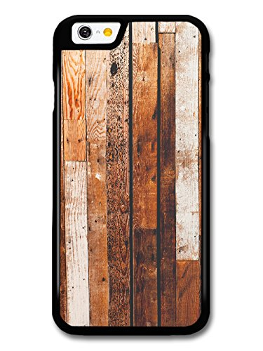Rustic Vintage Wood Effect with Different Stains Planks Deck Design case for iPhone 6 6S