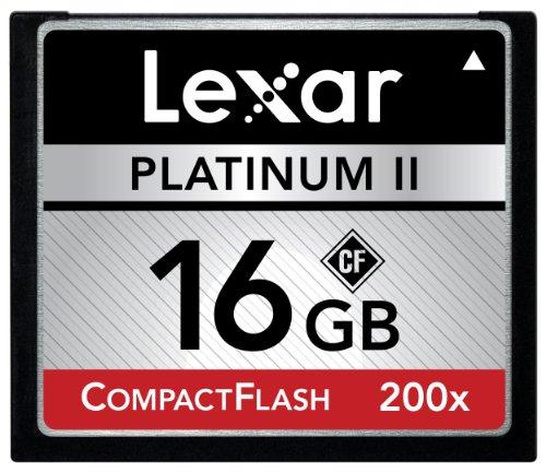 Lexar Platinum II 200x 16GB CompactFlash Memory Card ()