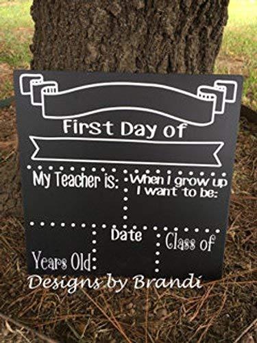 qidushop Pizarras Personalizadas para el día de la Escuela ...