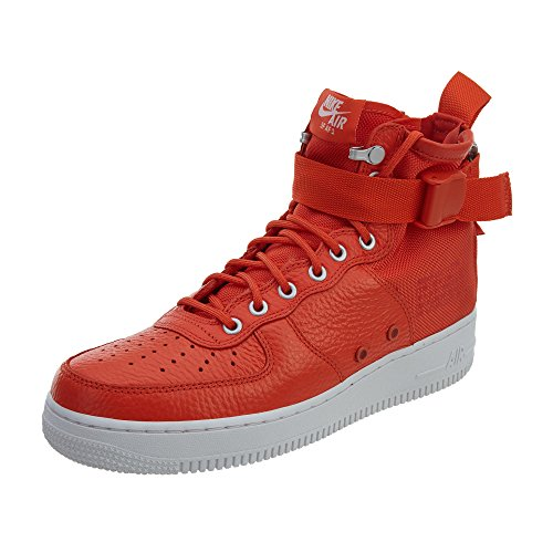 9be0b09a10e Nike Men s SF AF1 Mid Team Orange Team Orange Basketball Shoe 9.5 Men US
