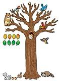 Carson Dellosa Big Tree with Animals Bulletin Board Set (110078)