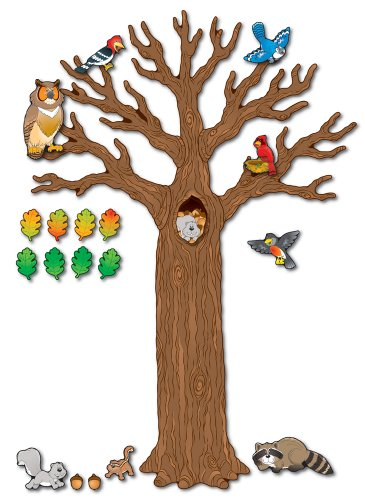 Carson Dellosa Big Tree with Animals Bulletin Board Set (110078)]()