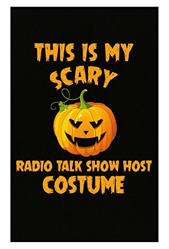Inked Creatively This is My Scary Radio Talk Show Host Costume Halloween - Poster ()