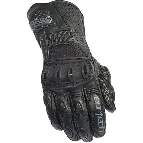 Cortech Latigo 2 RR Mens Leather Sports Bike Motorcycle Gloves - Black/Black / 2X-Large by Cortech (Image #1)