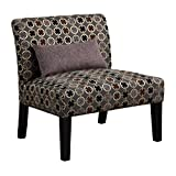 Coaster Home Furnishings Casual Accent Chair (Set of 2), Grey/Grey