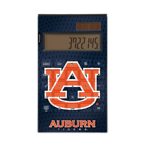 Auburn Tigers Desktop Calculator NCAA by Keyscaper
