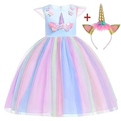 Vestido de Navidad para niños HPPLDress Disfraz de niña Vestido de ...