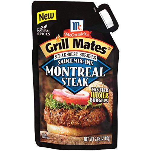 McCormick Grill Mates Montreal Steak Steakhouse Burgers Sauce Mix-Ins, 2.83 oz (The Best Burger Sauce)