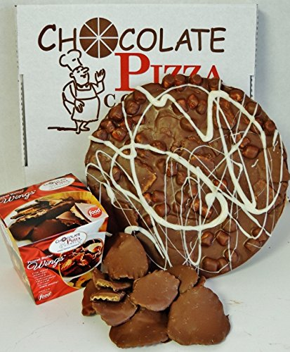 Chocolate Pizza®, Campfire, 16 Ounces, 10 Inch and Peanut Butter Wings®, 8 Ounces, Milk Chocolate