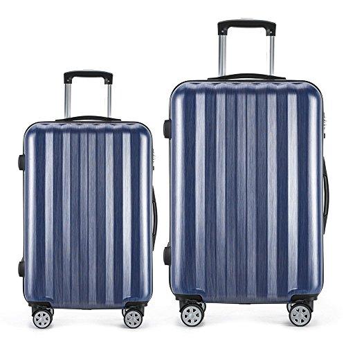 Luggage 2 Piece Expandable Set Hardshell Spinner Suitcase - Luggage Set Rolling Suitcase