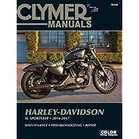 Harley-Davidson XL Sportster (12-17) Clymer Repair Manual