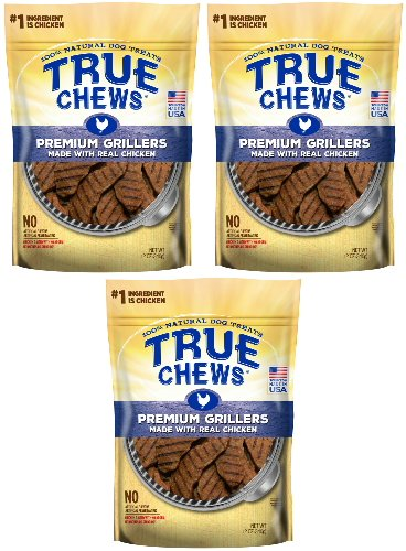 True Chews Tyson Premium Grillers Chicken 36oz 3 x 12oz