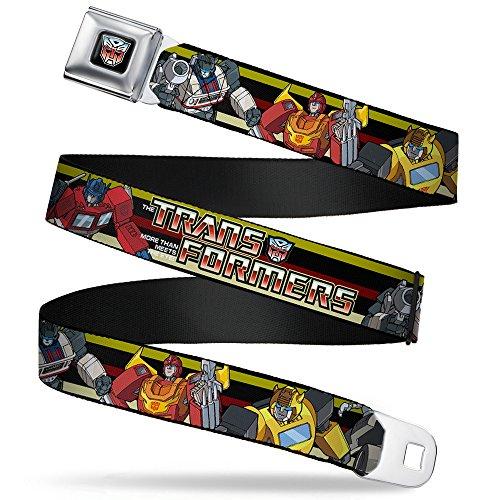 Transformers Autobots Belt Buckle (Transformers Animated TV Series Autobots Lineup Seatbelt)