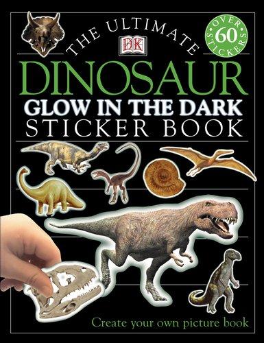 Ultimate Sticker Book: Dinosaur -- Glow in the Dark