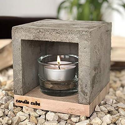 ECI Candle Cube© - Estufa de Mesa para Vela o té: Amazon.es: Hogar