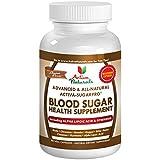 Activa Naturals Blood Sugar Health Supplement with Bitter Melon, Gymnema Sylvestre, Magnesium  & Guggul Herbs - 90 Veg. Caps