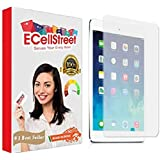 ECellStreet Tempered Glass Screen Guard Protector Compatible For Apple iPad Mini / Mini 2