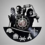 The Walking Dead – Series Vinyl Record Wall Clock – Get unique living room wall decor – Gift ideas for adults, friends, men and women – Unique Art Design Review