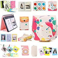 Nodartisan 12 in 1 Instax Mini 8/8+ Accessory Bundles Set (Colorful Mini 8 Case/Photo Case/Album/Hang Album/Lens/Filters/Film Frames/Hang Frames/Film Sticker/Camera Sticker/Battery Cover/Film Pouch) Explained Review Image