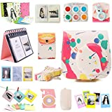 NodArtisan Compatible Mini 8 Camera Case Bundle with Album, Filters and Other Accessories for Fujifilm Instax Mini 8 8+ 9 Camera (Colorful, 12 Items)