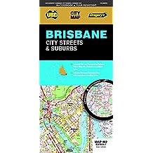 Brisbane City Streets & Suburbs Map 462 (waterproof)