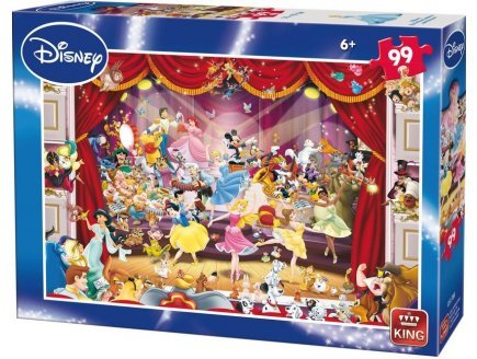 Enfant Princesses 99 Pieces Les Disney Puzzle Au Theatre King tdxChrBoQs