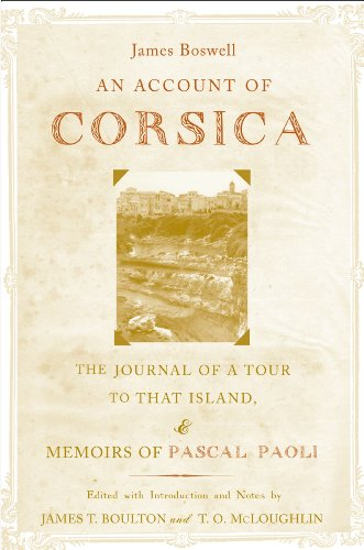 An Account of Corsica, the Journal of a Tour to That Island; and Memoirs of Pascal Paoli Pdf