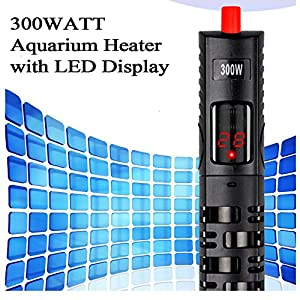 MWGears HL-338 300w Submersible Aquarium Heater with LED Temperature Display 94