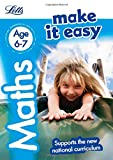 img - for Letts Make It Easy Complete Editions   Maths Age 6-7: New Edition book / textbook / text book