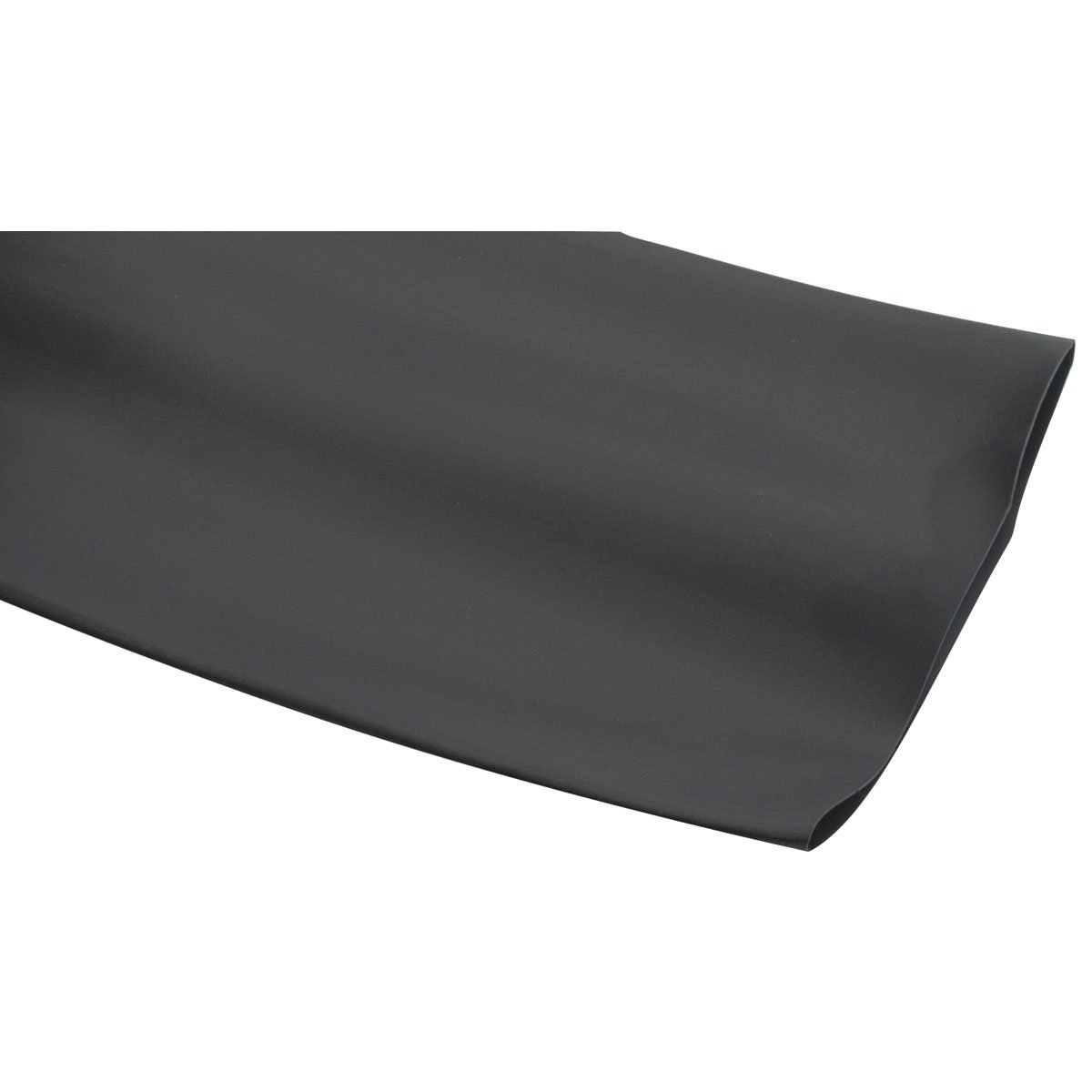 Parts Express 4'' Black 2:1 Heat Shrink Tubing 1 ft.