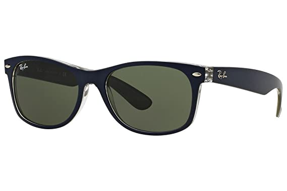 5f44c9726e Image Unavailable. Image not available for. Color  Ray Ban RB2132 6188 52  Matte Blue Military Green New Wayfarer ...