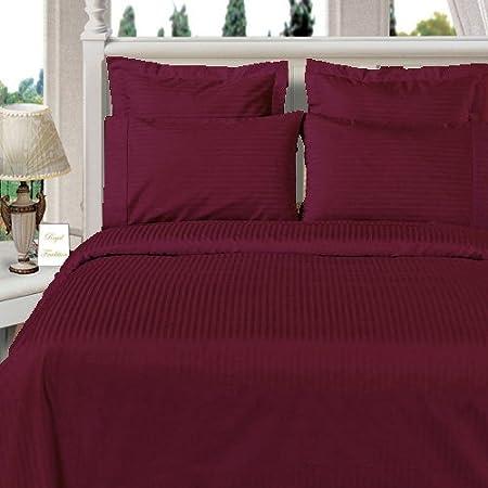 PREMIUM SATEEN STRIPE 800 Thread Count 800TC Duvet Quilt Cover Bedding Set
