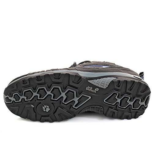 Jack Wolfskin Women's VOJO HIKE TEXAPORE WOMEN Trekking- & Hiking Half-Shoes grau/flieder Size:42 (EU) fwcTlZHlhL