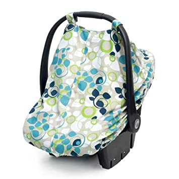 JJ Cole Car Seat Canopy Blue Vine Discontinued By Manufacturer