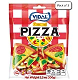Vidal Gummi Pizza Slices (Pack of 3)
