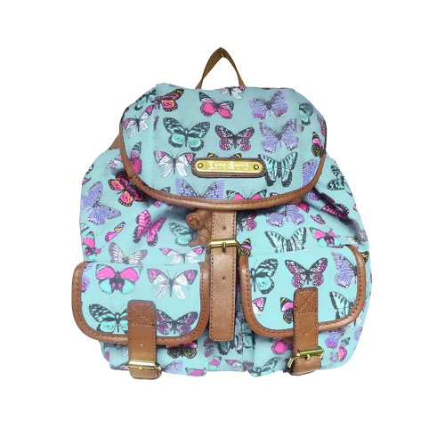 Anna Smith - Bolso mochila  para mujer azul azul Talla única Azul