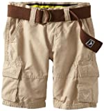 Company 81 Boys 2-7 Ripstop Belted Short, Khaki, 5 image