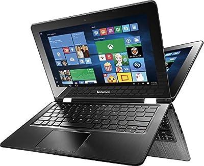 "Lenovo Flex 3-1130 2 in 1 Touch-Screen Laptop 11.6"" (Intel Celeron N3050 1.6GHz, 4GB Memory, 500GB Hard Drive, Black)"