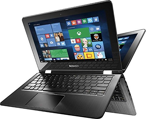 Lenovo Flex 3-1130  2 in 1 Touch-Screen Laptop 11.6' (Intel Celeron N3050 1.60 / 2.16GHz, 4GB Memory, 500GB Hard Drive, Black)