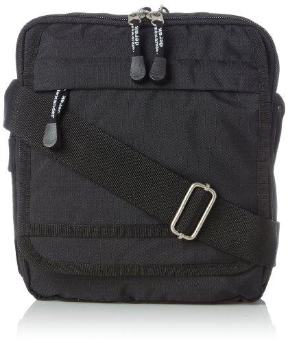 Derek Alexander Ns Top Zip Shoulder Bag, Black, One ()