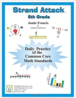 Printables Daily Math Practice Worksheets 5th grade common core math daily practice worksheets strand attack jamie francis kathryn robinson 9781931970
