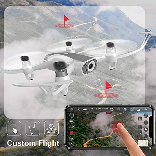 Cheerwing W1PRO GPS Drone with 1080P Camera for Adults, Quadcopter with Brushless Motor, Auto Return Home, Follow Me, Gesture Control, Long Flight Time 515KUDqzQoL
