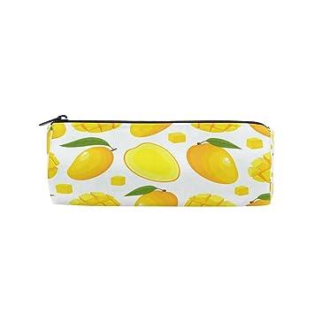 Estuche para lápices de mango amarillo para la escuela, para ...