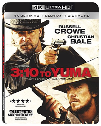 4K Blu-ray : 3:10 to Yuma (With Blu-Ray, 4K Mastering, Widescreen, 2 Pack, )