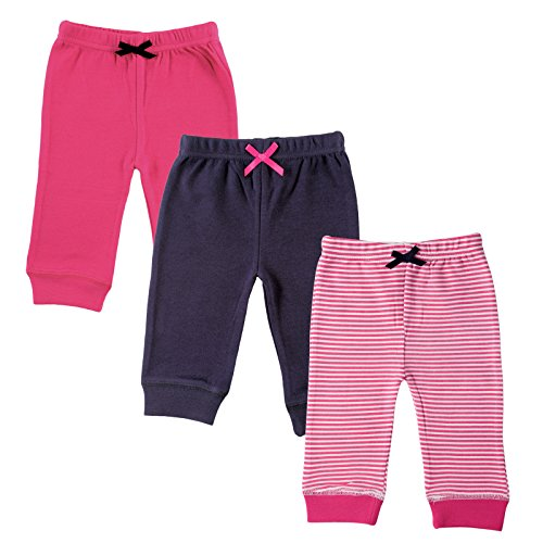 luvable-friends-baby-infant-3-pack-tapered-ankle-pants-pink-stripes-0-3-months