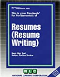 RESUMES (RESUME WRITING) (Fundamental Series) (Passbooks)