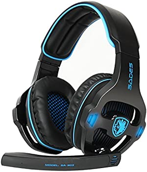 Sades SA903S Over-Ear 3.5mm Wired Gaming Headphones