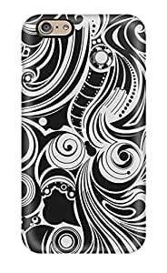 New Arrival Iphone 6 Case Black And White Pattern Case Cover